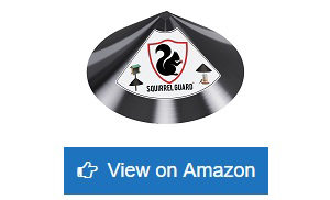 Squirrel-Guard-Baffle---Protects-Hanging-Bird-Feeders-&-Poles